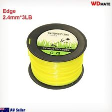 Trimmer Line 2.4mm 3LB Square 260M Cord Brush Cuter Whipper Snipper Mow 94037001