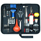 21 PCS Watch Repair Tool Kit Case Opener Spring Bar Tool / Hand Remover w/ Case