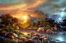 "Jigsaw Puzzles 1000 Pieces ""Sunset"" / James Lee"