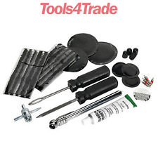 Sealey Temporary Off Road Vehicle Tyre Puncture Repair And Service Kit TST09 CLR