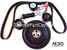 FAN BELT CRANKSHAFT PULLEY TENSIONER KIT FORD MONDEO MK3 2000-2007 2.0 D A/C