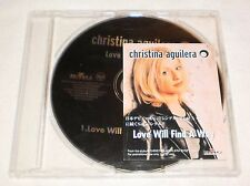 Christina Aguilera Love Will Find A Way JAPAN PROMO CD Single RARE HTF