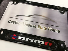 Stainless Steel License Plate Frame for Nismo Nissan Infiniti GTR 240SX 350Z S14