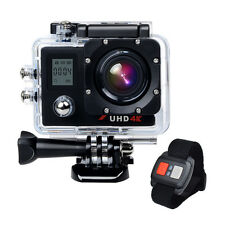 Ultra HD 4K 2.0'' WiFi Remote Control Action Sports Camera DV Camcorder Dual LCD