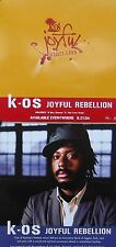 K-OS POSTER, JOYFUL REBELLION (SQ4)
