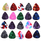 20X Celluloid Colorful Guitar Picks Acoustic Electric Guitar Bass K