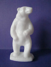 Chicago BROOKFIELD ZOO Collectible MOLD-A RAMA Souvenir Plastic POLAR BEAR Wht