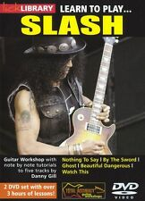 LICK LIBRARY Learn to Play SLASH Rock Ghost AC/DC Lesson Electric GUITAR DVD