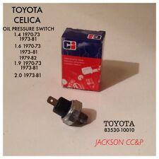 TOYOTA CELICA OIL PRESSURE SWITCH FOR EARLY CLASSICS TOYOTA PART NO 83530-10010
