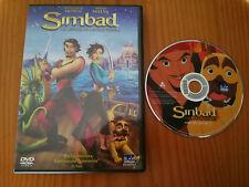 SIMBAD LA LEYENDA DE LOS SIETE MARES DVD + EXTRAS EDICION ESPAÑOLA REGION 2-4
