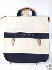 Levis Made Crafted Duo Convertible Bag Canvas/ Denim/ Leather Backpack LVC Tote