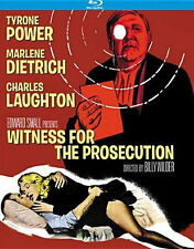 WITNESS FOR THE PROSECUTION (TYRONE POWER) - BLU RAY - Region A - Sealed