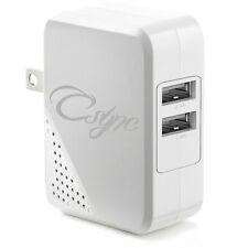 USB Wall Charger 4.8A 24W Dual Port Foldable Plug for iPhone, Samsung and more