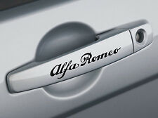 Alfa Romeo door handle emblem stickers x4