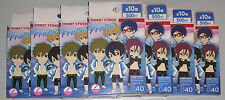 Free! Iwatobi Swim Club anime blind box rubber strap keyring charm collection