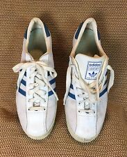 Vintage�� Adidas Love-Set Made In France Leather Sneakers Sz Women 9 /Men Sz 7.