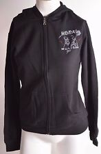 2016 NWT WOMENS METAL MULISHA IMMORTAL ZIP FLEECE $44 S black graphic zip up