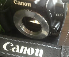 M42 SCREW LENS to CANON EOS EF Mount Adapter Ring 400D 350D 300D 40D 30D 20D UK