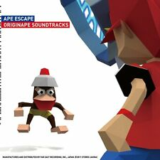 New Ape Escape OST Originape Soundtracks CD fast shipping