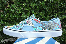 VANS VAN DOREN AUTHENTIC SZ 8.5 PARROT LIGHT BLUE VN 0SCQ7SR