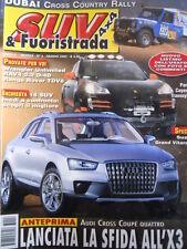 SUV & FUORISTRADA n°6 2007  Wrangler Unlimited Porsche Cayenne S [P40]