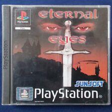 PS1 - Playstation ► Eternal Eyes ◄ inkl. Anleitung & OVP | Rollenspiele