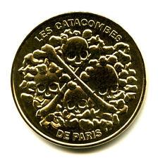 75014 Les Catacombes, Crânes et tibias, Verso 20 ans, 2016, Monnaie de Paris