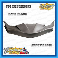 "GO KART "" NOSECONE BLACK FP7 SENIOR "" ARROW X2-X4 MONACO M8 & GP8 DEADLY NEW"