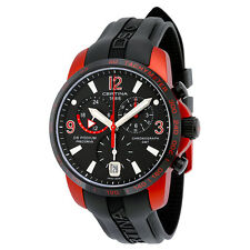 Certina DS Podium Chronograph Black Dial Aluminum Black Rubber Mens Watch
