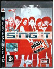 Disney: Sing It! High School Musical 3 Senior Year - PS3 - NUOVO -  ITA