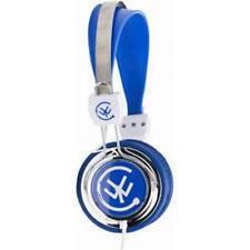 Uranz ZIP Full Over Ear Stereo DJ Style Headphone Blue
