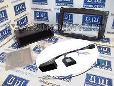 Mascherina e COMANDI AL VOLANTE autoradio monitor gps 2 Din Alfa Giulietta 2014