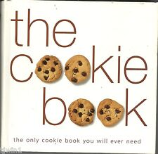 THE COOKIE BOOK THE ONLY COOKIE BOOK YOU WILL EVER NEED REPRINTED 2002 COOKBOOK