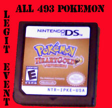 Pokemon Heartgold LOADED all 493 + Legit Event UNLOCKED With Celebi Mew ARCEUS