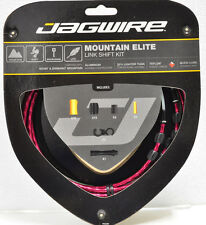 Jagwire Mountain Elite Link Teflon Coated RED Shift Cable Kit Sram/Shimano MTB