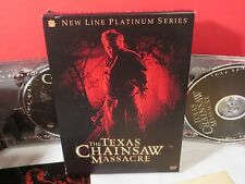 THE TEXAS CHAINSAW MASSACRE DVD WITH POSTCARDS & METAL PLATE