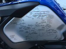 Bmw r1200gs adventure lc (14-17) World stickers/decals  . Side tank Stickers.