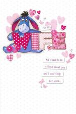 WINNIE THE POOH EEYORE FOR MY WIFE BIRTHDAY CARD NEW GIFT DISNEY