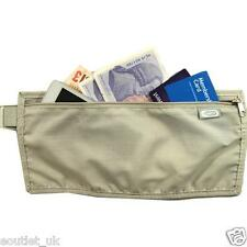 TRAVEL BELT MONEY BUM FANNY WAIST BAG SECURITY TICKETS PASSPORT HOLIDAY POUCH