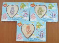 VINTAGE CARE BEARS SOAP TABLETS GOOD LUCK, GRUMPY & CHEER BEAR NOS