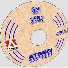 ATSG GM TH 350 Turbo Automatic Transmission Rebuild Manual CD-ROM