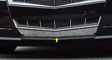 FITS CADILLAC CTS 4DR 08-13 POLISHED STAINLESS CHROME LOWER BUMPER GRILLE TRIM