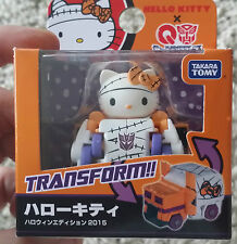 Takara Choro Q Transformers - LIMITED EDITION QTC-01H Hello Kitty Halloween Ver