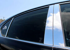 Fits BMW X3 04-10 Chrome Mirror B-Pillar Door Pillar Covers Post Accessories