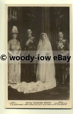 r0111 - Princess Mary on her Wedding Day with Groom & her Parents - postcard