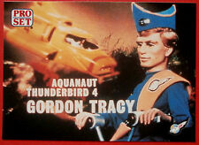 Thunderbirds Pro Set-tarjeta #038 - Aquanaut Thunderbird 4 Gordon Tracy-Pro Set