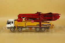 1/38 CHINA 50m SANY ISUZU SY5385THB Truck mounted concrete Pump Diecast model