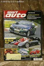 Sport Auto 12/08 Alpina B3 Biturbo Ferrari Enzo Audi RS