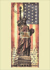 REPRINT PICTURE older NEW YORK UNITED NATIONS statue of liberty and flag 5x7