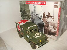 Ltd to 250 king & country BBA037 dodge WC54 ambulance summer version & driver